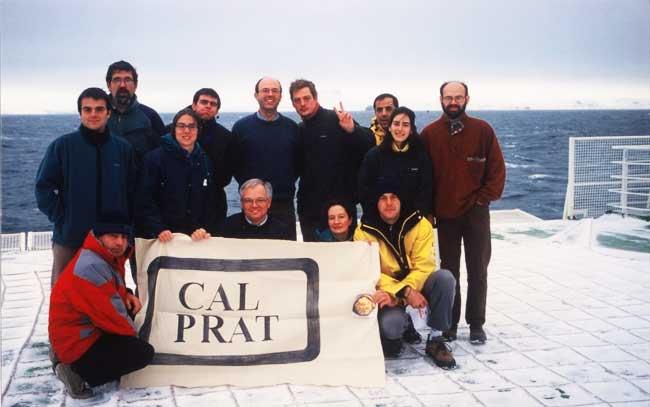 Cal Prat a l'Antàrtida