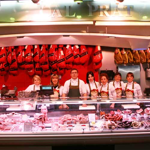 La parada de Cal Prat al Mercat de Sabadell
