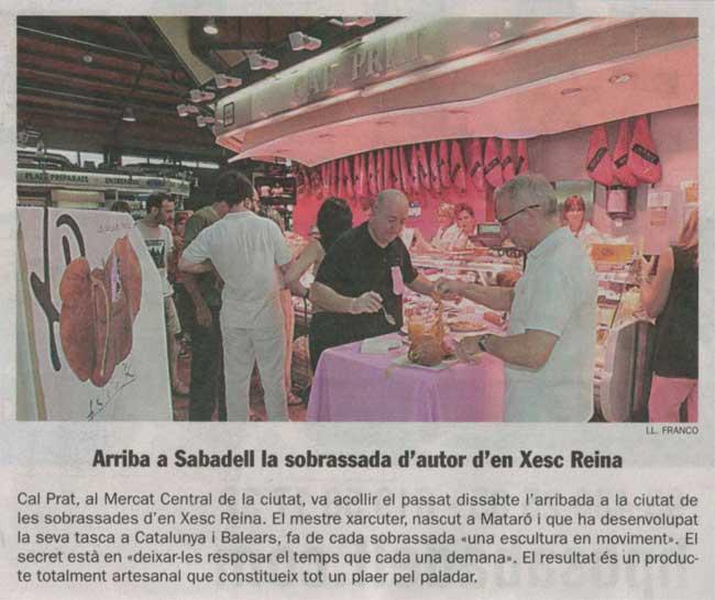 sobrassada xesc reina a Sabadell