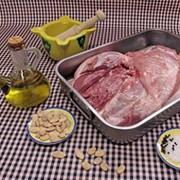 Espatlla de porc farcida Cal Prat